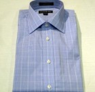 Damon Blue Plaid Poplin