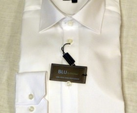 Blu by Polifroni White Dress Shirt