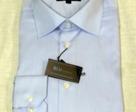 Blu by Polifroni Soft Blue Dress Shirt
