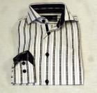 Blu by Polifroni Black Stripe