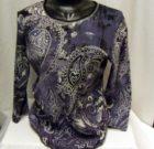 Jess & Jane Paisley Knit