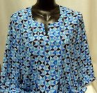 N Touch Blue Design Blouse